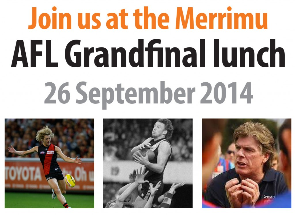 Join us at the AFL Grand Final Lunch